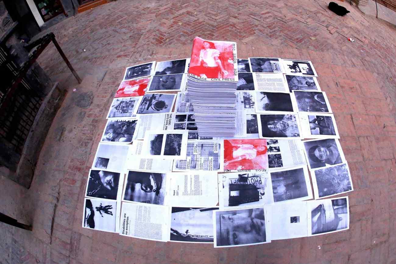 the cage_2075 civil press_nepal